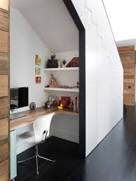 under stairs office. contemporay home office under stairs v