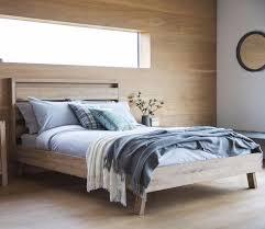 gallery scandinavian design bedroom furniture. Hudson Living Kielder Oak Bed Scandinavian Style Gallery Design Bedroom Furniture K