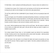 termination letter template free termination letter template 39 free sample example in