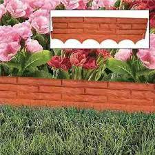 brick garden edging. image is loading red-brick-wall-garden-edging-plastic-lawn-flower- brick garden edging