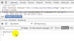 how to open javascript console in chrome