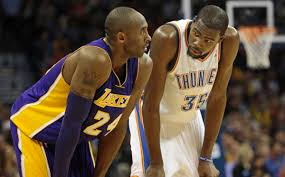 Kevin Durant Quotes Adorable Kobe Bryant Has Great Quote About Getting Thunder Stars To Bite On