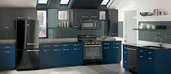 Kitchen With Blue Walls Grey Cabinets Blue Walls Design Home Design And Decor