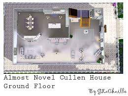 Cullen House Floor Plan  House PlansCullen House Floor Plan