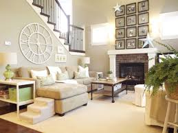 Transitional Decorating Living Room Idyllic Big Neutral Living Room Furniture Shabby Interior Design