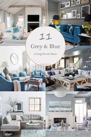 11 most attractive grey and blue living room