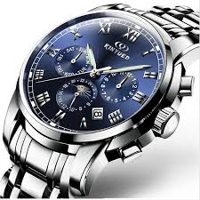online buy whole watch company men from watch company original kinyued men s mechanical men s watches brand de luxe complete waterproof steel 100 m company automatic