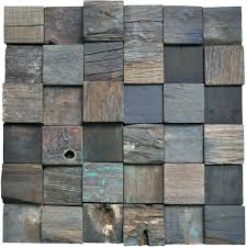 awesome reclaimed wood wall tiles panel accent square panels sq ft bedroom uk wooden furniture
