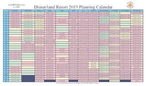 Disneyland Attendance Chart Disneyland Crowd Forecast Calendar