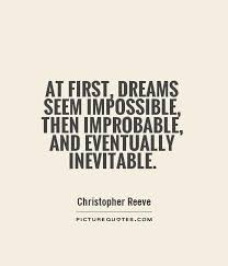 Quotes About Impossible Dreams Best of Money Dreams Quotes Managementdynamics