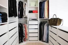 ikea pax closet system with closet peninsula