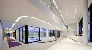 interior modern office. simple contemporray office design all white walls glass doors furniture pieces ceiling interior modern i