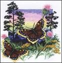 Вышивка крестом бабочку схемы скачать бесплатно