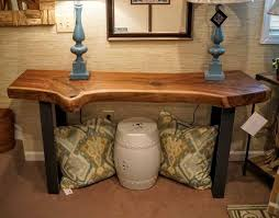 office wood table. solid walnut liveedge slab console table furniture office wood e