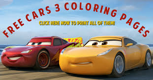 Small Picture Free Cars 3 Coloring Pages Simply Being Mommy