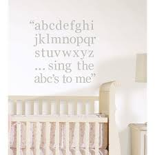 dove gray alphabet letters wall decals