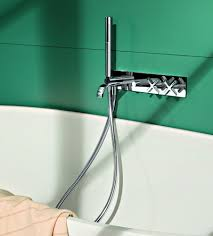 Riviera Wall Mount Tub Filler Hand Shower Jack London