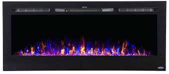 napoleon wall mount electric fireplace 50 in review flush series inch ember