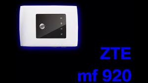 Обзор роутера <b>ZTE mf920</b> - YouTube