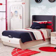 First Class Airplane Twin Panel Customizable Bedroom Set