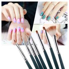 Professional Nail Polish Designs Us 1 53 23 Off 7pcs Set Diy Professional Nail Art Brush Design Painting Tool Pen Polish Brush Set Gel Uv Nail Print Brushes Kit In Nail Brushes From
