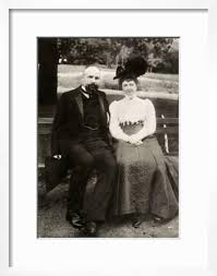 Portrait of the Prime Minister of Imperial Russia Pyotr Stolypin with His  Wife, 1910' Giclee Print   Art.com