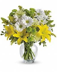 teleflora s brightly blooming bouquet