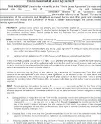 Free Copy Rental Lease Agreement Residential Property Template ...