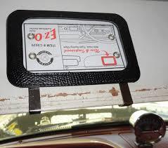 auto registration holder