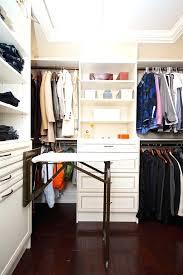 walk in closet ideas an ironing board is a great addition to a walk in closet walk in closet ideas