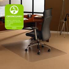 com floortex ec118927er cleartex ultimat chair mat for high pile carpets 35 x 47 clear carpet protector chair mat office s