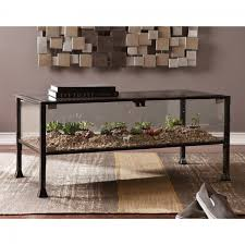 ... Total Fab Glass Top Display Case Coffee Tables Table With 91wj Q Coffee  Table With Display ...