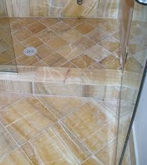 cleaning marble shower floors walls
