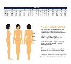 La Femme Prom Dresses Size Chart A Line La Femme Prom Dress 27487
