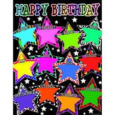 Star Chart By Birthday Fancy Stars Happy Birthday Chart Products Birthday