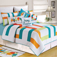 Zuma Bay Multicolored Quilt Bedding &  Adamdwight.com