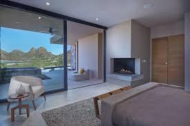 modern master bedroom corner fireplace 050318 1115 07