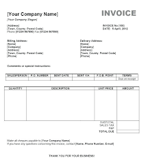 Mac Excel Template Free Blank Invoice Templates In Word Excel Template Mac