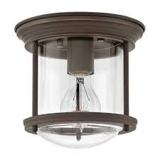 Hinkley Hadley Light Hinkley Lighting 3300oz Cl 1 Light Flush Semi Flush Mount