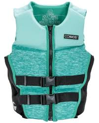 Connelly Life Jacket Size Chart Connelly Womens Classic Neoprene Life Vest 2020 Mint