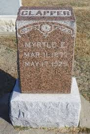 Myrtle Erma Smith Clapper (1877-1929) - Find A Grave Memorial