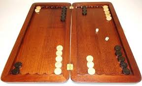 Classic Wooden Board Games 100 Tournament Classic Wooden Backgammon Set High Quality Board 40