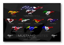 cool ford logos. a new twist on the ford mustang logo portsmouth cool logos d