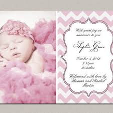 Announcement For Baby Girl Best Baby Girl Announcement Cards Products On Wanelo