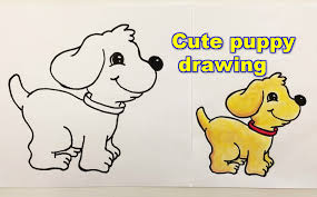 Small Picture How to draw a puppy step by step YouTube