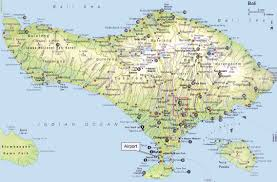 go get bali  all about bali map of bali