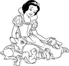 Beautiful princess coloring sheets disney cartoon picture, if. Snow White Coloring Pages The Sun Flower Pages