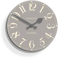 newgate clocks ice grey court wall clock
