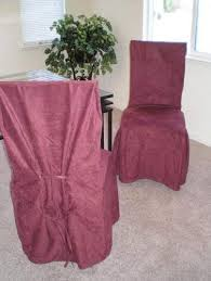 <b>6 Pieces Burgundy</b> / Wine Dining <b>Chair</b> Slipcovers: Amazon.co.uk ...
