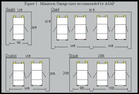 standard garage dimension garage door what is the average size of a double car garage door